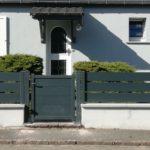 Fourniture et pose clôture et portail par JD Fermetures 68
